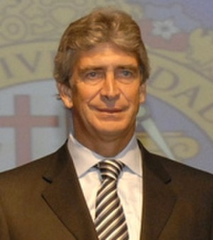 Manuel Pellegrini - Pellegrini with Real Madrid in October 2009