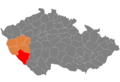 Map CZ - district Klatovy.png