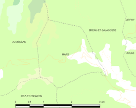 Map commune FR insee code 30157.png