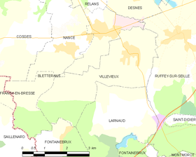 Map commune FR insee code 39574.png