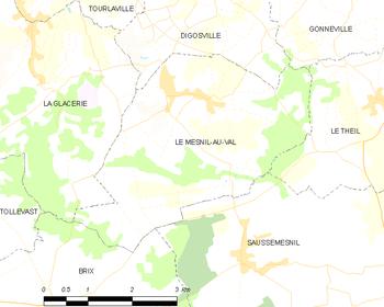 Le Mesnil-au-Val - Wikipedia