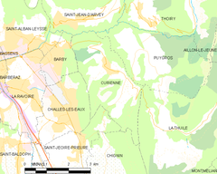 Map commune FR insee code 73097.png