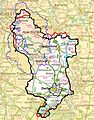 Map of Derbyshire boundaries plus Peak District.jpg