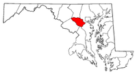 Map of Maryland highlighting Howard County.png