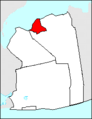 Map of Nassau County, New York, highlighting Glen Cove.PNG