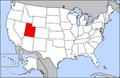 Map of USA highlighting Utah.png
