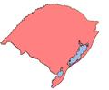 Mapa Rio Grande do Sul do Brasil (somente).PNG