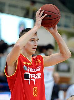 Latvian professional basketball player