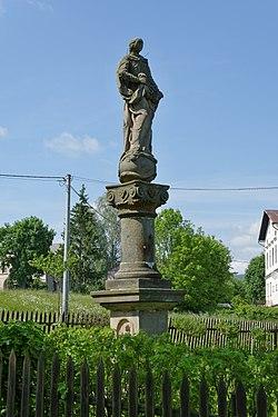 Maria column in Broumov Rožmitál (4270).jpg