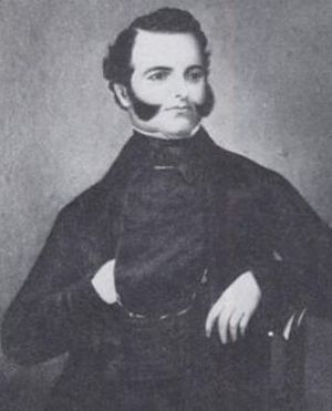 Sonoma, California - Mariano Vallejo as a Young Man
