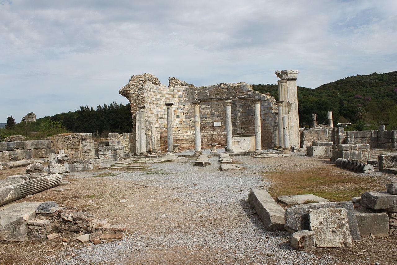 Efeso, Rovine della chiesa della Vergine Maria. dans archeologia 1280px-Marienkirche_Ephesos_3