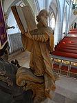 Marienstiftskirche Lich Kanzel Thomas von Aquin 10.JPG