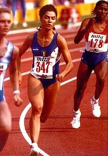 Marisa Masullo Italian sprinter