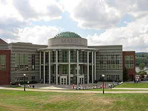 English: Picture of Marist College Student Center.