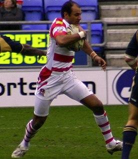 Mark Calderwood England international rugby league footballer