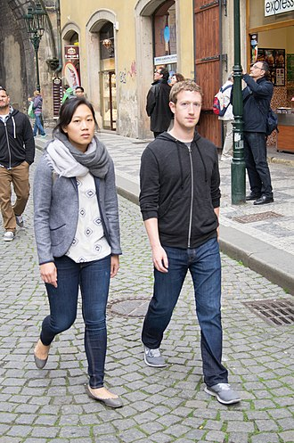 Mark Zuckerberg - Chan and Zuckerberg in Prague (2013)