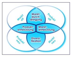 produkt markt matrix - Produktdiversifikation Beispiel