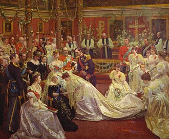 Maud of Wales - Wedding of Princess Maud of Wales and Prince Carl of Denmark