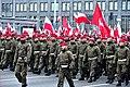 Marsz z okazji 100-lecia niepodległości Polski w Warszawie Aleje Jerozolimskie.jpg