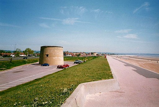 Martello Towers at Dymchurch - geograph.org.uk - 2210850