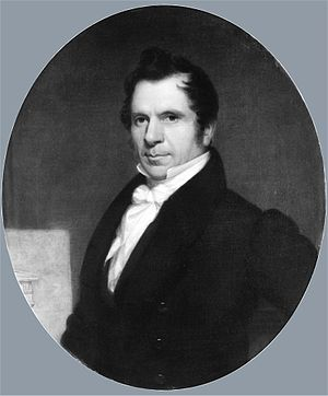 Martin E. Thompson - Portrait by William Sidney Mount