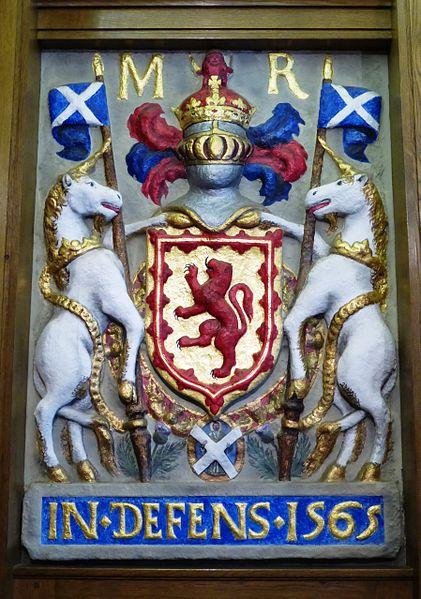 File:Mary, Queen of Scots arms, South Leith Parish Church.JPG
