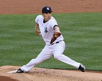 2018 American League Division Series - Game 2 winning pitcher Masahiro Tanaka