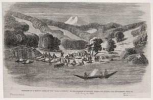 Allen Gardiner (schooner) - Wulaia Massacre, in London Illustrated News