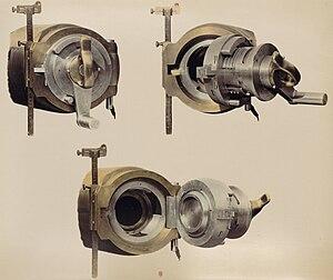 Reffye 75 mm cannon - Reffye breech.