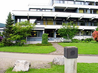 Mathematical Research Institute of Oberwolfach - Entrance to the Mathematics Institute