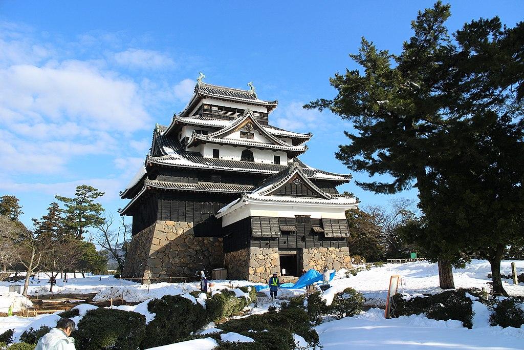 Matsue Castle Keep Tower 20170126-2