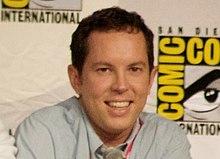Matt Nix, creatore di Burn Notice, al San Diego Comic-Con International del 2010.
