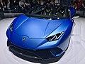 Matte Blue Lamborghini Huracan Performante Spyder (Ank Kumar, Infosys) 02.jpg