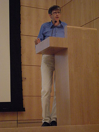Matthew Buckingham - Buckingham speaking at the Henry Art Gallery, Seattle, Washington