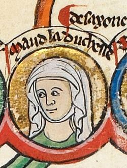 image illustrative de l'article Mathilde d'Angleterre (1156-1189)