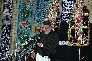 Mirza Mohammed Athar - An image of Maulana Mirza Mohammad Athar