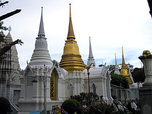 Wat Ratchabophit - Mausoleum of Savang Vadhana