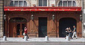 Maxim's - The façade of Maxim's Restaurant