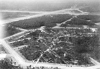 Myrtle Beach, South Carolina - Original Myrtle Beach Air Force Base during World War II