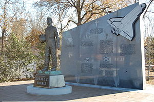 Ronald McNair - Dr. Ronald E. McNair memorial in his hometown, Lake City, South Carolina