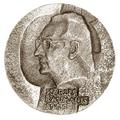 Medal. Karlis Baumanis. 1986. Latvian SSR.png