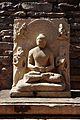Meditating Buddha - East Gateway - Stupa 1 - Sanchi Hill 2013-02-21 4446.JPG