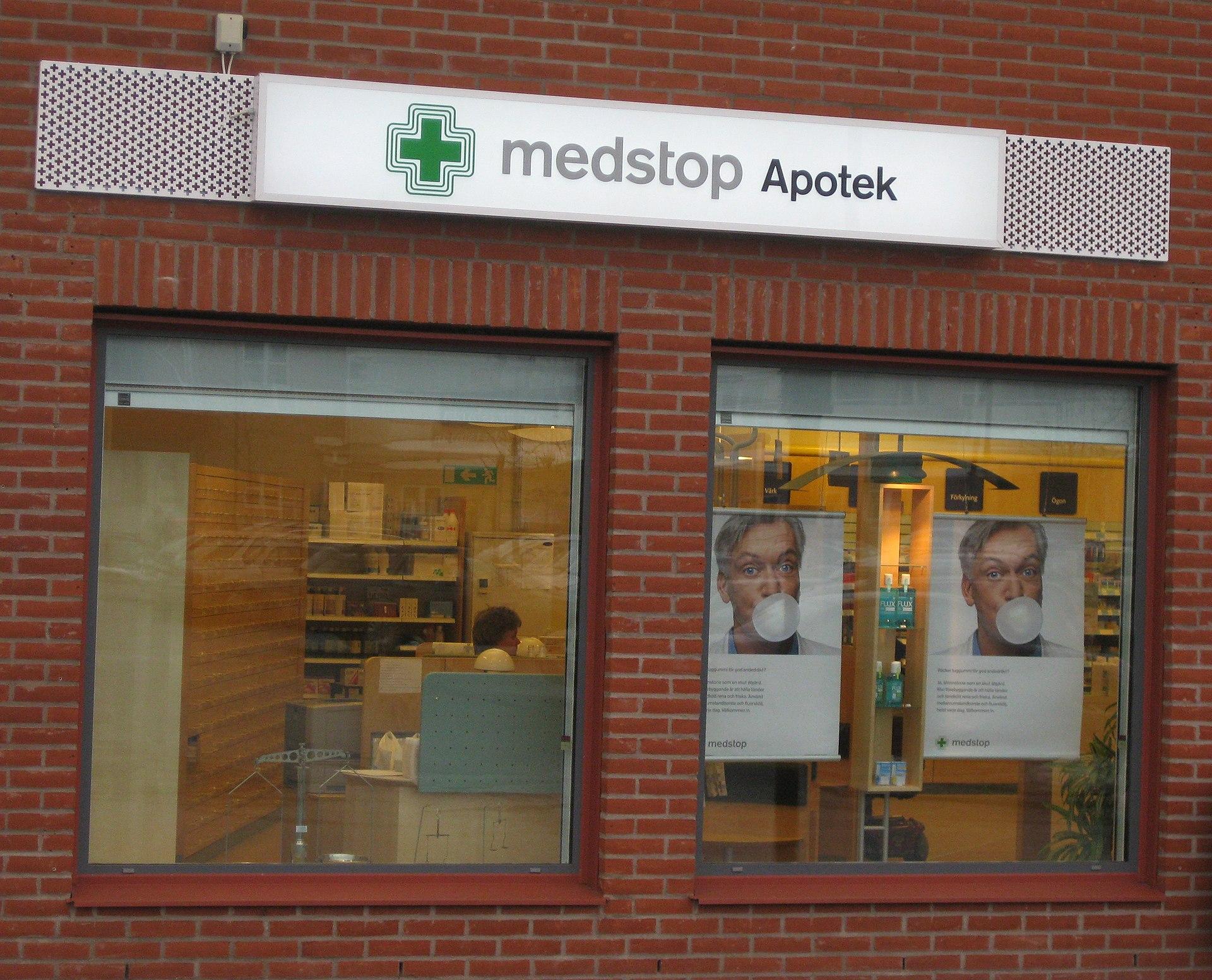 Valtrex apotek i Sverige