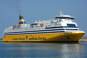 Bastia - The Mega Smeralda Ferry