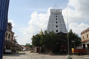 Tamil Jain - Mel Sithamur Jain Math, the residence of Laxmisena