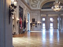 Awesome A View Of The Inside Of Memorial Hall (part Of Bancroft Hall) Part 27