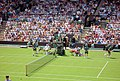 Men's singles opening match with Federer. - geograph.org.uk - 485527.jpg