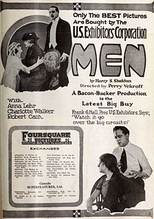 <i>Men</i> (1918 film) 1918 film by Perry N. Vekroff