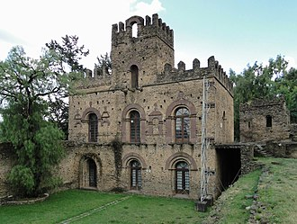 Mentewab - Mentewab's Castle in Fasil Ghebbi, Gondar, Ethiopia