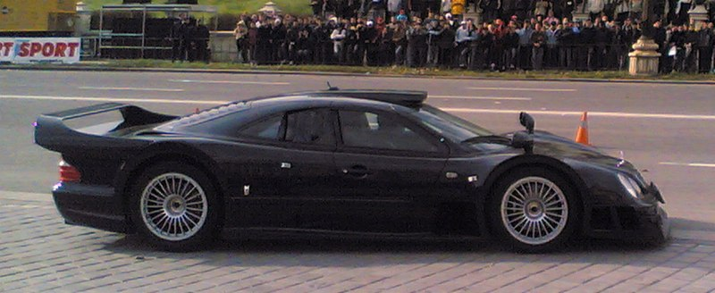 Mercedes Benz CLK GTR Black